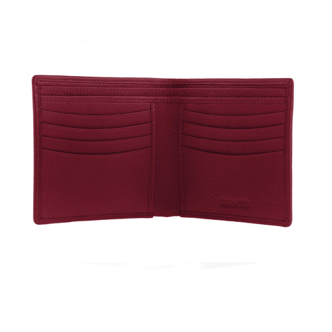 Billetera Dents Leather Billfold RFID Roja Dent´s