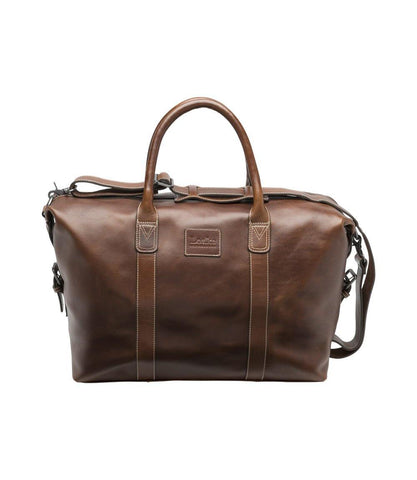 Bolso Balmoral weekend brown Loake