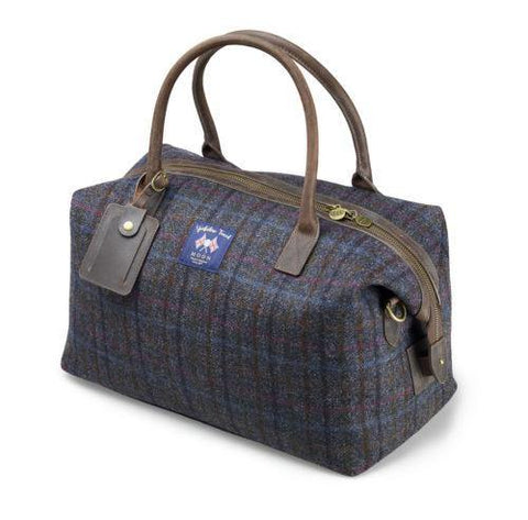 Bolso Holdall Tweed Gris Abraham Moon