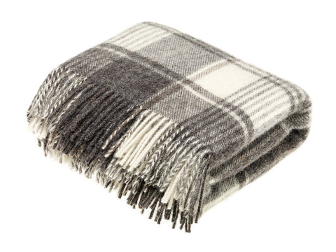 Chal Lambswool 135x195 Huntingtower Brown Abraham Moon