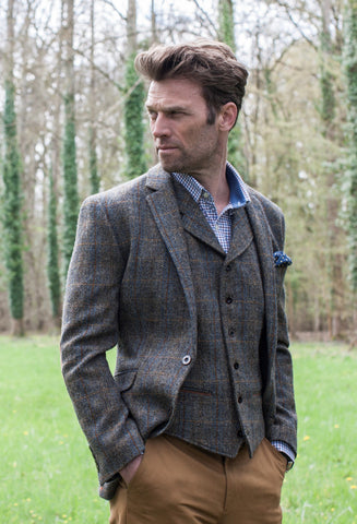 Chaqueta Tweed Sumburg Brook Taverner