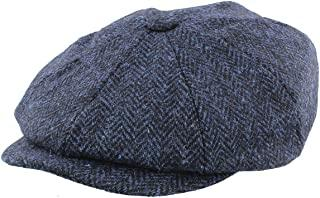 Gorro Harris Tweed Baker Boy Blue Glen Appin