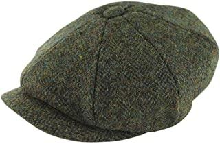 Gorro Harris Tweed Baker Green Glen Appin