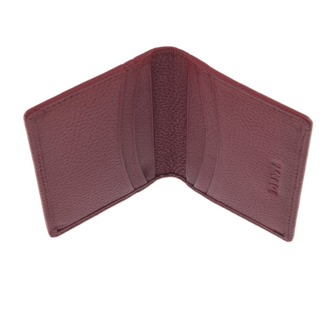 Tarjetero Dents Leather RFID Rojo Dent´s