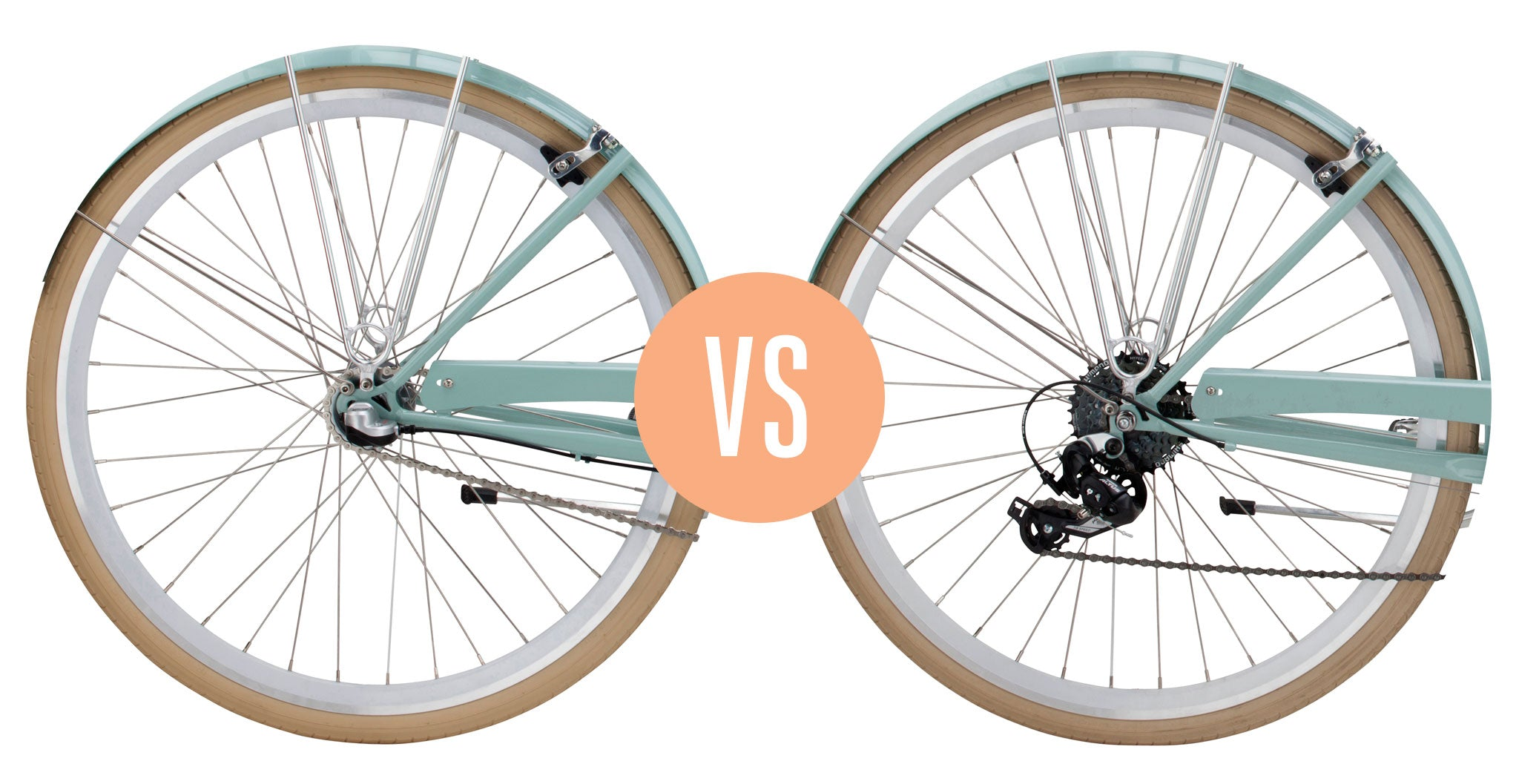 Gears and Shifting 101: 3-Speed vs  8-Speed – Pure Cycles