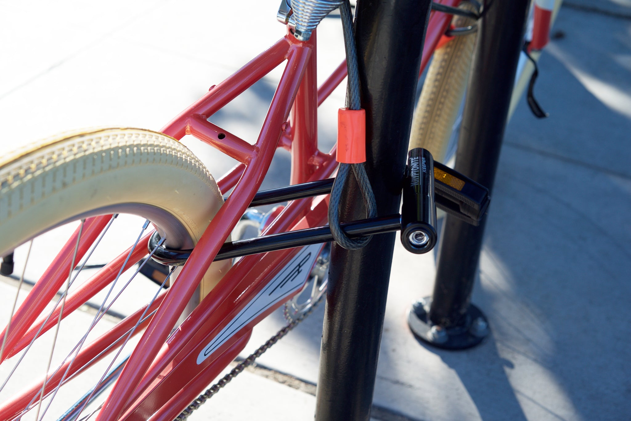 how to break a bike lock without a tool
