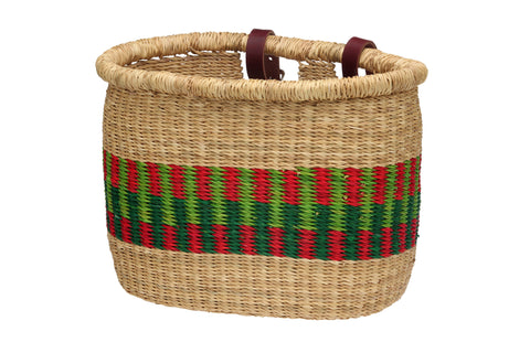 Pot Shaped Asungtaba Bike Basket