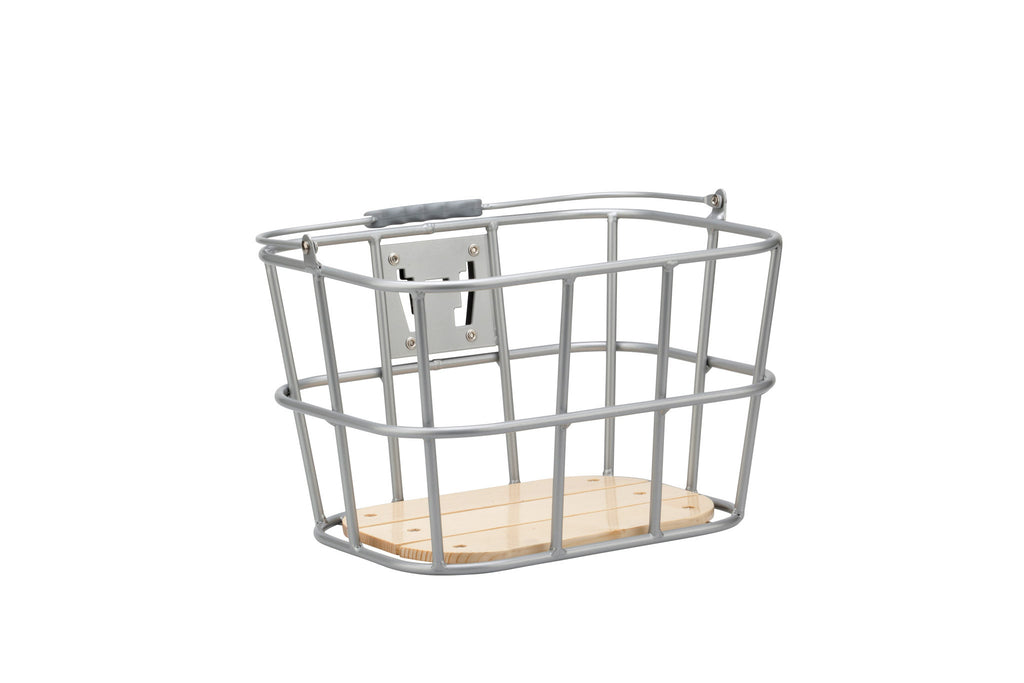 Pure City Front Wood-Base Basket