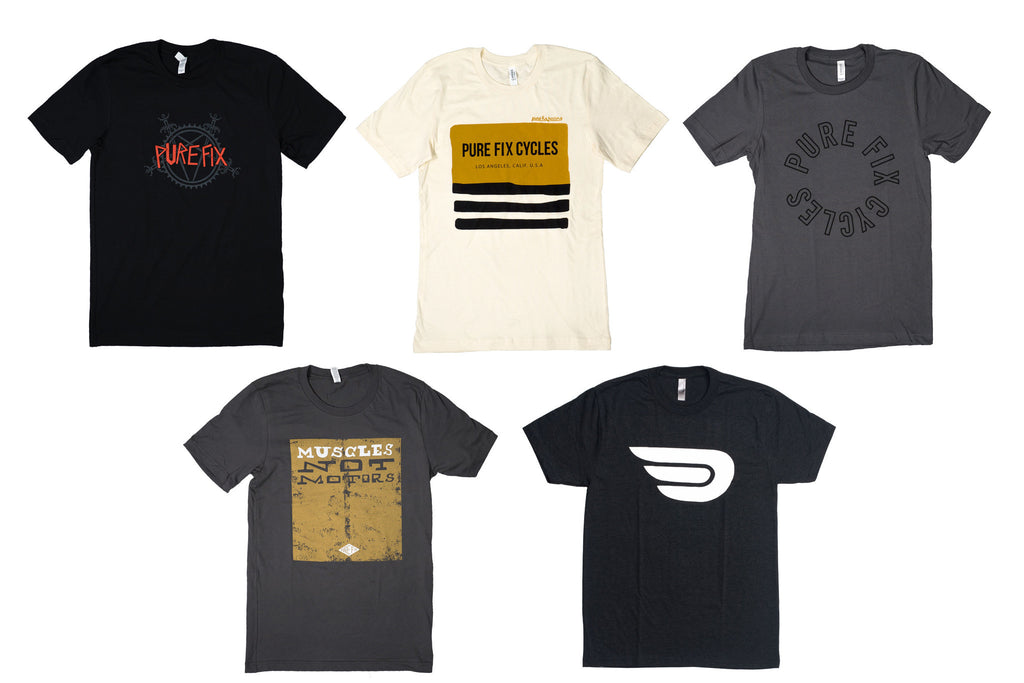 PF Street Tee Five-Pack