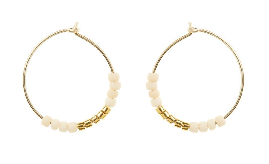 XS Hoop Earrings - Pink