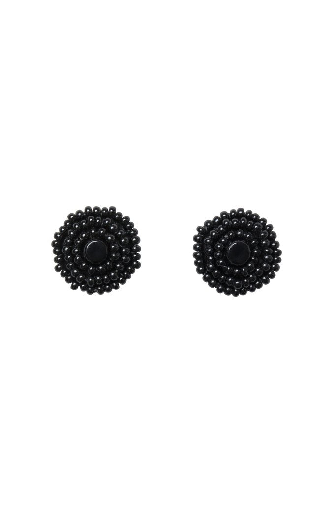 Kifungo Earrings - Black