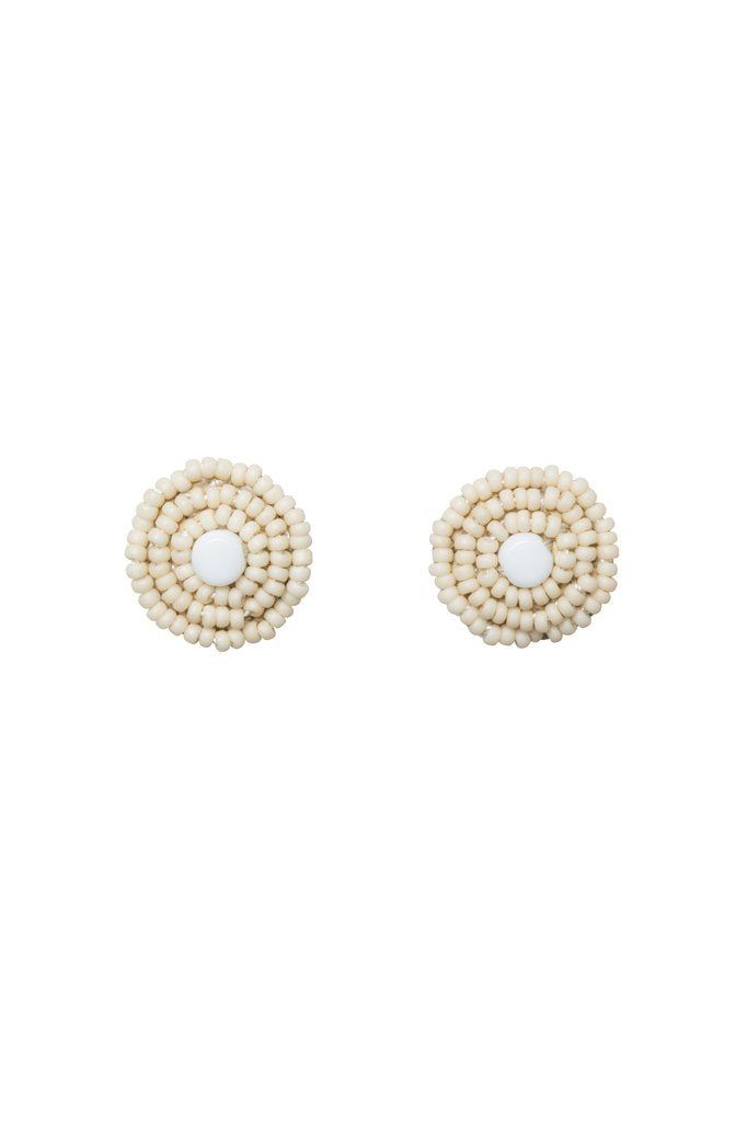 Kifungo Earrings - Pink