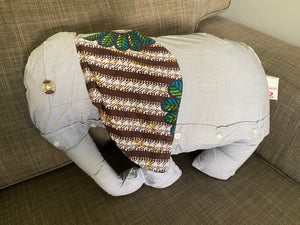 Open image in slideshow, Large Elephant Cushion