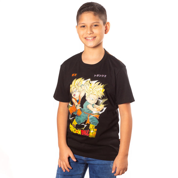 Polo Dragon Ball Manga Corta Niño - 2x S/35.00