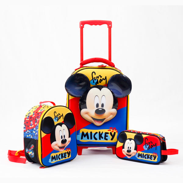 Set Escolar Mickey Mouse