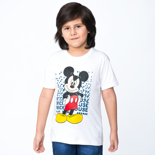 Polo Mickey Mouse Manga Corta Niño / 2do a 40% menos