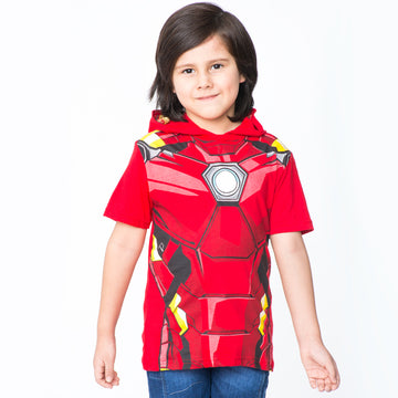 Polo Disfraz Iron Man Manga Corta Niño / 2do a 40% menos