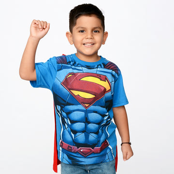 Polo Disfraz Superman Manga Corta Niño / 2do a 40% menos