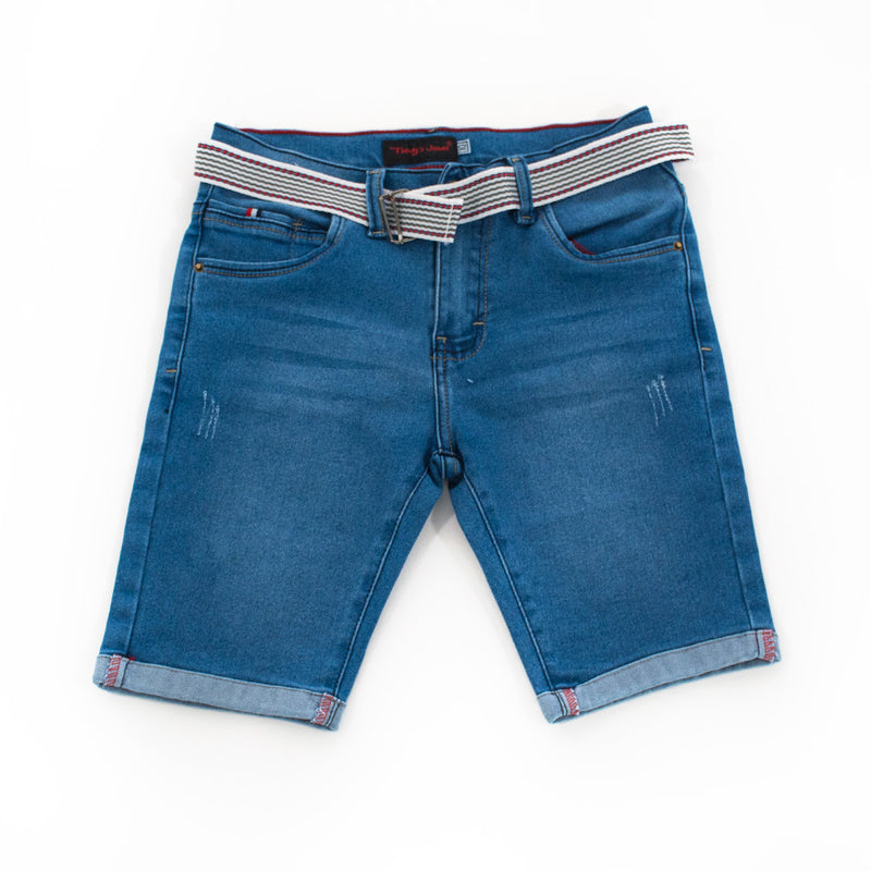 Bermuda Thonys Denim Stretch Niño - 2x S/65.00