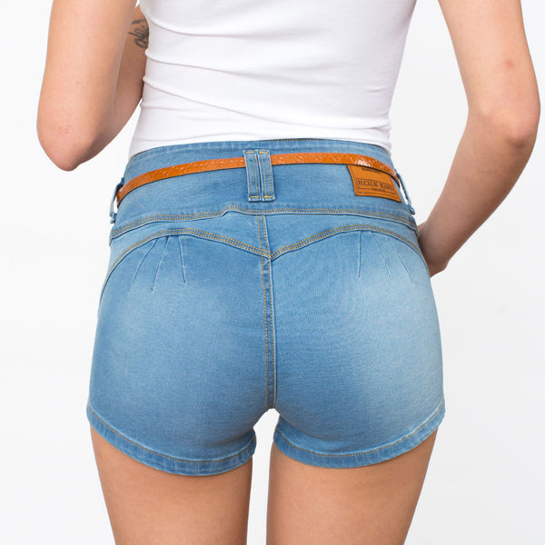 Short H Club Denim Stretch Mujer - 2x S/70.00