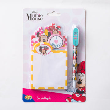 Set Libreta Minnie Niña / 2do a 90% menos