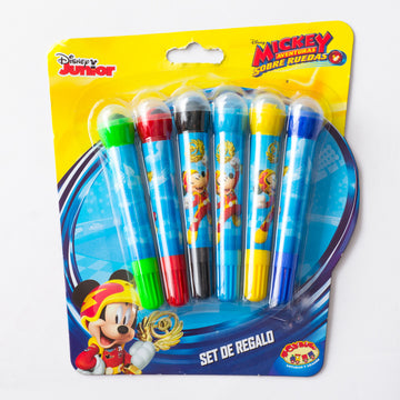 Set Plumones Mickey Mouse Niño / 2do a 90% menos