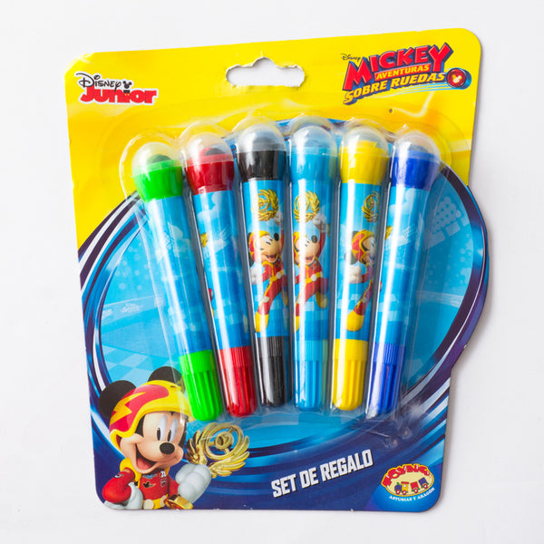 Set Plumones Mickey Mouse Niño