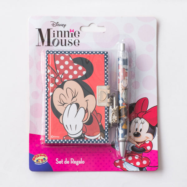 Set Diario Minnie Niña