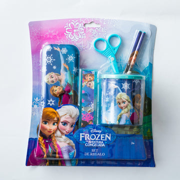 Set Portalápices Frozen Niña / 2do a 90% menos
