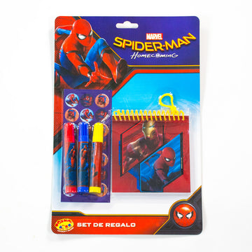Set Libreta Spider-Man Niño / 2do a 90% menos