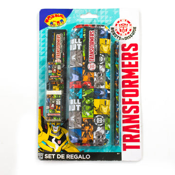 Set Cartuchera Transformers Niño / 2do a 90% menos