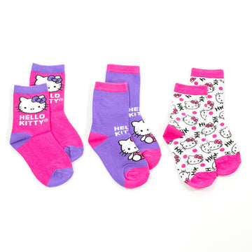 Pack X 3 Medias Hello Kitty Niña