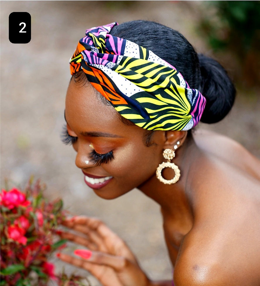 Ankara Hair Bands