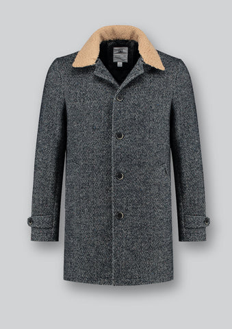 Dstrezzed Herringbone Coat