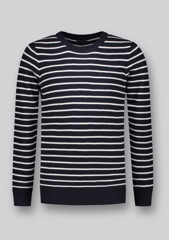 Stripe Cotton Knit Jersey