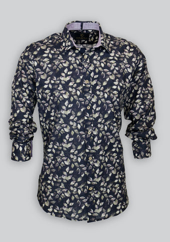 Blake Shirt in Dark Floral