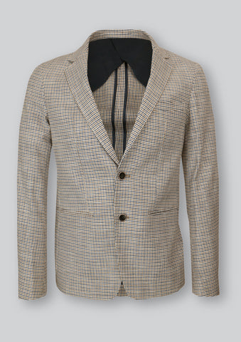 Heath Summer Check Blazer