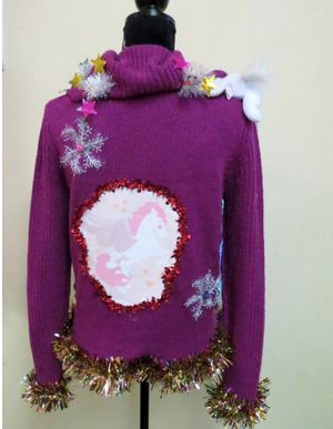 Unicorn Ugly Christmas Sweater