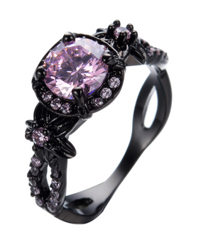 Black Gold Ruby Ring