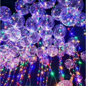 Bobo Balloon LED String Light Battery Powered for Christmas Party Decoration