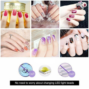 Single Finger Nail Light Therapy Lamp
