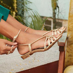 Flat Heel Summer Daily Sandals