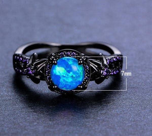 Black Gold Opal Ring