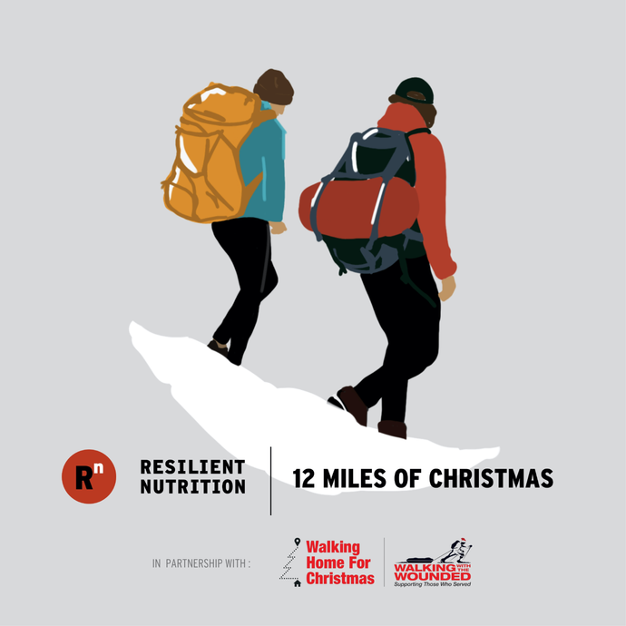 Resilient Nutrition to partner with Walking With The Wounded in Christmas campaign