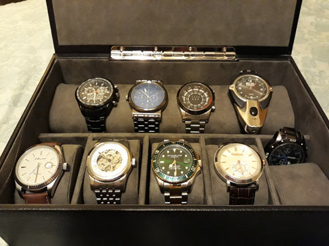 Personal watch collection