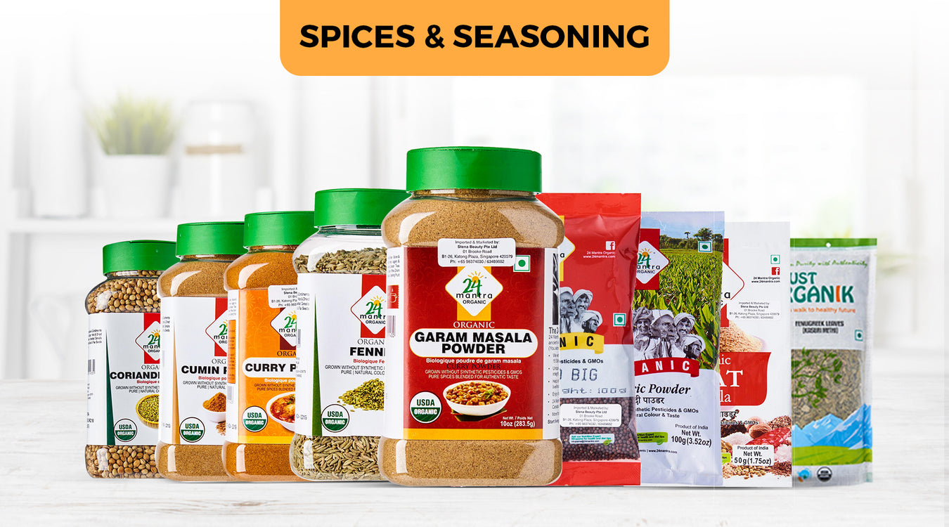 Spices Seasoning Products