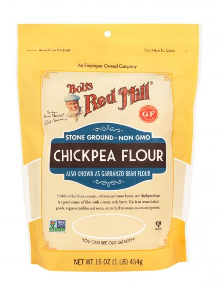 Bob's Red Mill Gluten Free Chickpea Flour (Garbanzo Bean Flour)