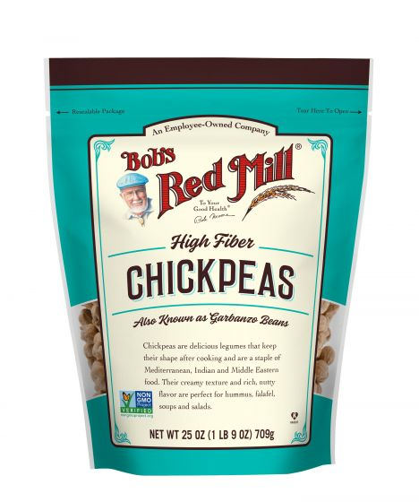 Bob's Red Mill High Fiber Chickpeas / Kabuli Channa
