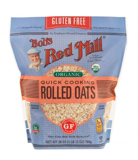 Bob's Red Mill Organic Gluten Free Quick Cooking Rolled Oats