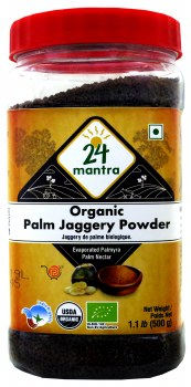 24 Mantra Palm Jaggery Powder